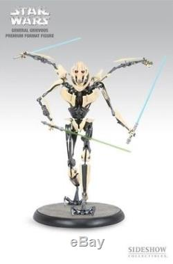 Sideshow Star Wars GENERAL GRIEVOUS 1/4 Scale Figure premium format regular v