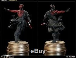 Sideshow Star Wars Mythos Darth Maul Dark Disciple Polystone Statue #2024/2500