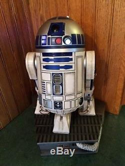 Sideshow Star Wars R2d2 1/4 Scale Statue