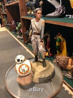 Sideshow Star Wars Rey and BB-8 Premium Format Figure Set