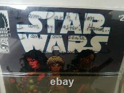 Signed Jan Duursema Star Wars Comic Packs Legacy #2 Darth Talon Cade Skywalker