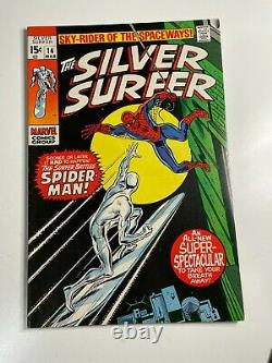 Silver Surfer #14 Bronze Age Marvel Comic Book