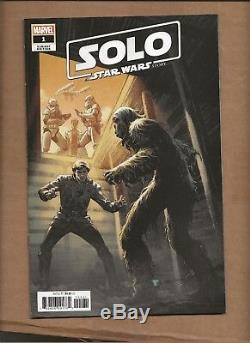 Solo Star Wars Story Movie Adaptation #1 Luke Ross Incentive Variant Marvel 150