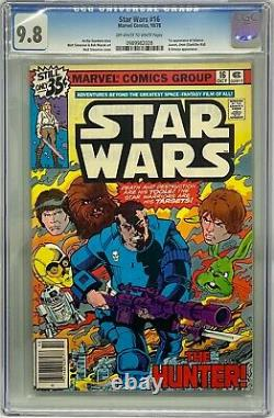 Star Wars #16 CGC 9.8 1978 Marvel Comics