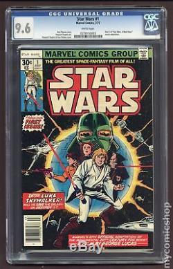 Star Wars (1977 Marvel) #1 CGC 9.6 0278150003