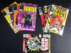 Star Wars #1-107, Annuals 1-3, ROTJ 1-4 (Marvel 1977) Higher Grade NEAR COMPLETE