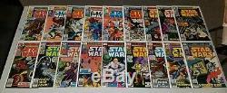 Star Wars #1-107 COMPLETE Full Run Lot Solo Darth Vader Boba Fett 42 68 107 NM