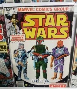 Star Wars #1-107 Marvel Full Run Lot 41 42 43 68 1st Yoda Boba Fett MANDALORIAN