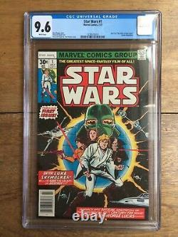 Star Wars #1 1977 CGC 9.6 1238572010