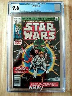Star Wars #1 1977 Cgc 9.6