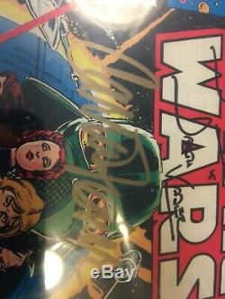 Star Wars #1 1977 Cgc-ss 9.2 Signed By Carrie Fisher, Mark Hamill, David Prowse