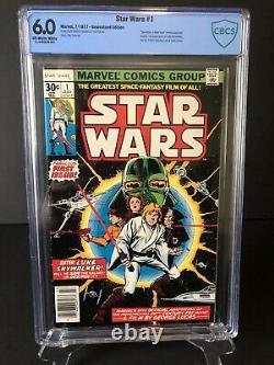 Star Wars #1, 1977 Marvel Comics First Print, Cbcs Grade 6.0