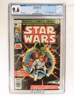 Star Wars #1 (1977) Reprint CGC 9.6 Marvel Comics CM368