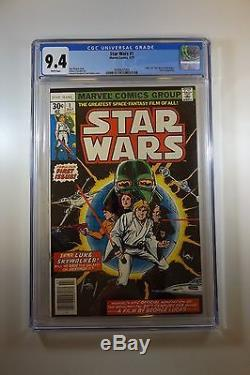 Star Wars #1 1977 series CGC 9.4 White pages FREE SHIPPING