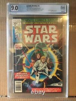 Star Wars #1 1st App Darth Vader graded 9.0