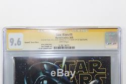 Star Wars #1 1st Day Issue CGC 9.6 SS Signed (2X) Stan Lee J Scott Campbell