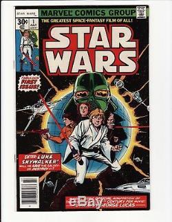 Star Wars #1 1st First Printing HIGH GRADE 1977 Marvel Comics NM