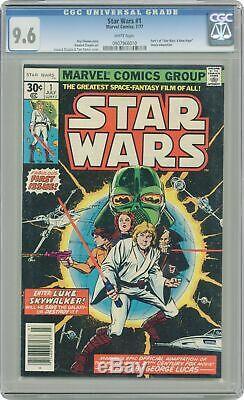 Star Wars #1 1st Printing CGC 9.6 1977 0907966010
