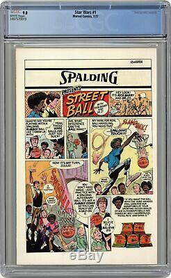 Star Wars #1 1st Printing CGC 9.8 1977 1497570019