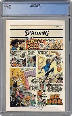 Star Wars #1 1st Printing CGC 9.8 1977 1497670024