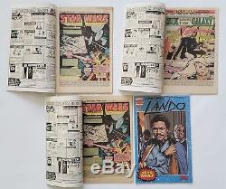 Star Wars 1 1st print, 1 Reprint, 2 1st print, & Lando 1 SDCC CGC/CBCS Ready