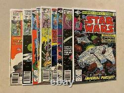 Star Wars #1 2 6 8 9 16 41 42 43 49 50 68 81 94 107 Complete 1st Boba Fett 1977