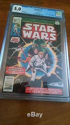 Star Wars #1 35 Cent Price Variant CGC Universal Grade 5.0