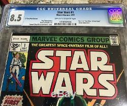 Star Wars 1 (35 cent cover variant) CGC 8.5 OW-W pages