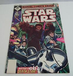 Star Wars # 1-3 Marvel Comics 1977 lot set run 1 2 3 Whitman diamond 35 cents