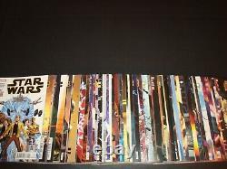 Star Wars 1-75 Complete Comic Lot Run Set Jason Aaron Gillen Marvel Collection