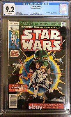 Star Wars 1 9.2 (1977)! First issue in series! Extremely hot book