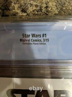 Star Wars #1 Adi Granov Forbidden Planet Boba Fett Variant Cgc 9.8 Nm/mt Tv Show