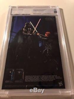 Star Wars 1, B&W Luke sketch Variant, C2E2,9.8, Rare! Last Jedi