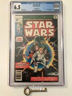 Star Wars #1 CGC 6.5 & (2) Star Wars #2 CGC PGX 6.0 35 Cent Price Variant LOT