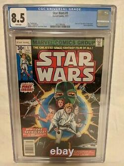 Star Wars #1 CGC 8.5 Marvel Comics 1977