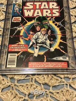Star Wars #1 CGC 9.4 A New Hope 1st Print Chaykin 1977 Disney + New Case