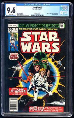 Star Wars #1 CGC 9.6 1977