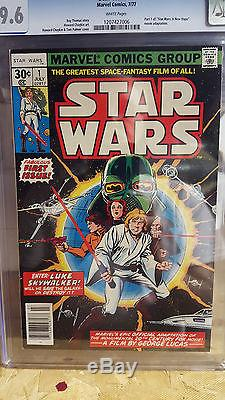 Star Wars # 1 CGC 9.6 Most awesome! White Pages! X-mas sale