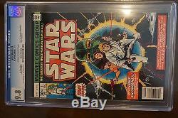 Star Wars #1 CGC 9.8 (Jul 1977, Marvel) 1st print