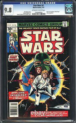 Star Wars #1 CGC 9.8 NEWSSTAND