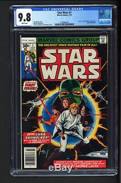 Star Wars #1 CGC 9.8 NEWSSTAND NM+/M BEAUTIFUL FIRST APPEARANCE