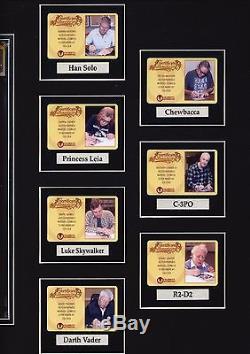 Star Wars 1 CGC 9.8 SS Ford / Fisher / Hamill / Prowse / Baker / Daniels /Mayhew