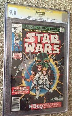 Star Wars #1 CGC 9.8, Signed By Stan Lee, First Print, vader from rogue one film