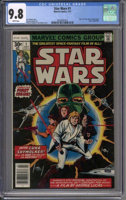 Star Wars #1 Cgc 9.8 (w)