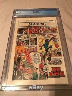 Star Wars #1 CGC 9.8 White Pages