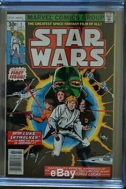 Star Wars # 1 Cgc 7.5 (very Fine-) July 1977 Marvel Comics. (cgc Comics)