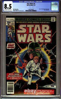 Star Wars #1 Cgc 8.5 (1977 Marvel Comics) First Printing- A New Hope! No Reserve