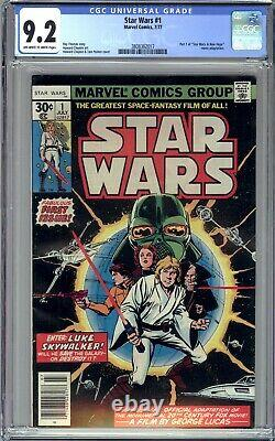 Star Wars #1 Cgc 9.2 (1977 Marvel Comics) First Printing- A New Hope! No Reserve