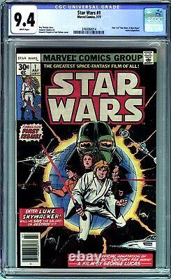 Star Wars #1 Cgc 9.4 (1977 Marvel Comics) First Printing- A New Hope! No Reserve