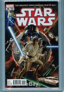 Star Wars #1 Cgc 9.8 1977 Cover Homage Marvel Alex Ross 150 Variant